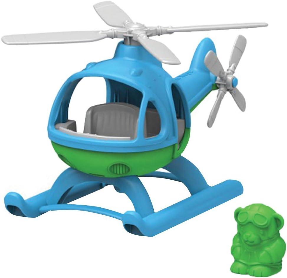 Green Toys- Helicóptero (Azul), Multicolor (GY-097)