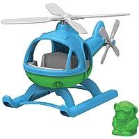 Green Toys- Helicóptero (Azul), (GY-097)