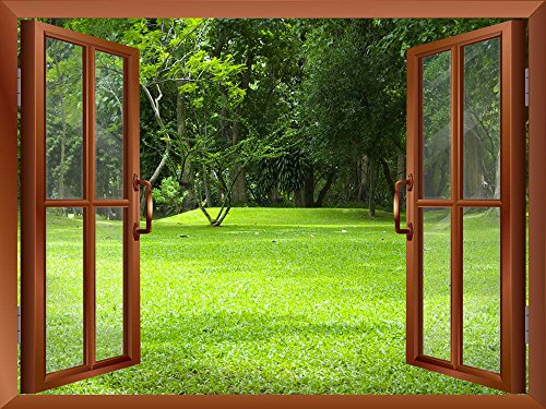 Garden Green Grass Removable Wall Sticker Wall Mural
