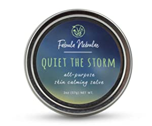 Quiet the Storm all-purpose salve, petroleum free, all-natural ointment, 2oz tin