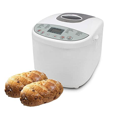Sotech Máquina de Pan Sin Gluten, Panificadora Automática, 650W ...