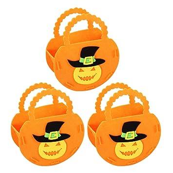 Amazon.es: NUOBESTY Bolsas de Dulces de Halloween Bolsa ...