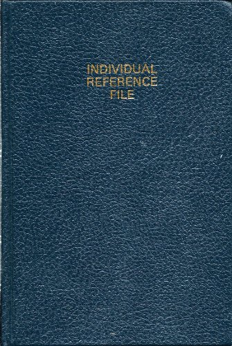 Individual Reference File of Extracts From the Edgar Cayce Readings