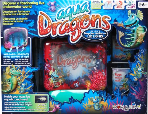 Aqua Dragons Deluxe LED Deep Sea Habitat Kit