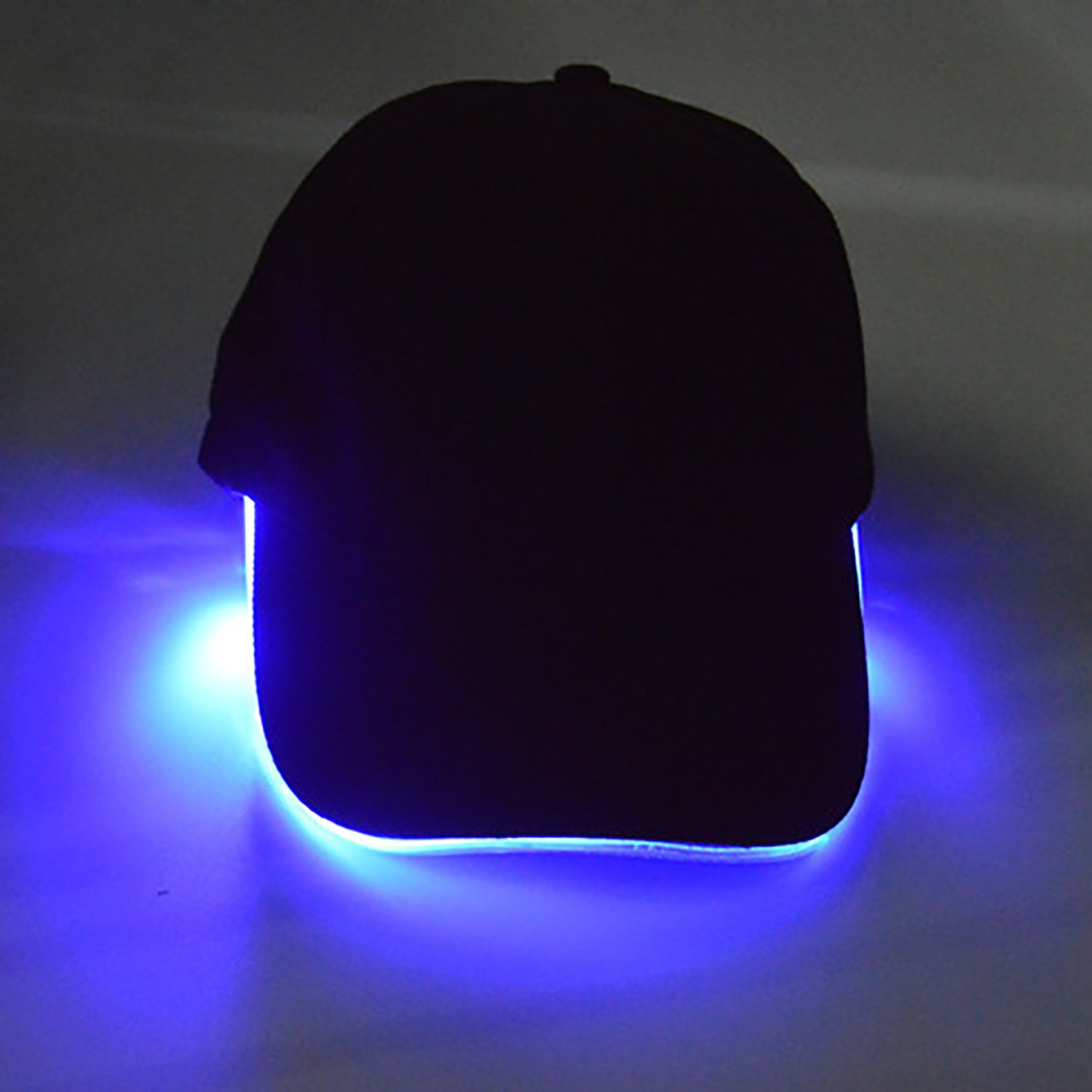 Unisex Led Hat Baseball Cap for Women Men Easily Adjustable Light Up Flashing Bright Sport Hats for Hip Hop Party, Hunting, Jogging, Camping, Angling, Christmas Cideros