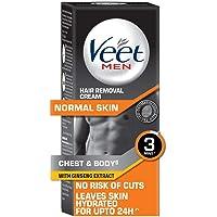 Veet Hair Removal Cream for Men, Normal Skin - 100g