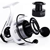 YONGZHI Fishing Reels Spinning Reel for Saltwater 13 +1 BB Light Weight Ultra Smooth Powerful with Free Spare Graphite Spool