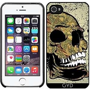 Funda para Iphone 5/5S - Cráneo Del Azúcar by nicky2342