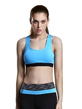 SIMYJOY Ropa Interior Femenina Ropa Deportiva Sujetador Tops de Yoga para Correr/Gimnasio para Mujer