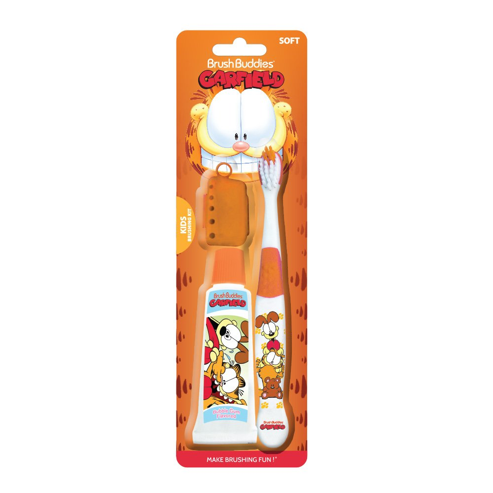 Brush Buddies Garfield Kid's Brushing Kit
