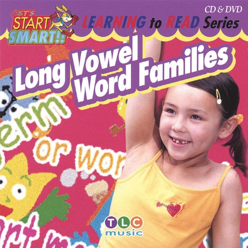 Long Vowel Word Families Cd & Dvd (Vowels Long Cd)