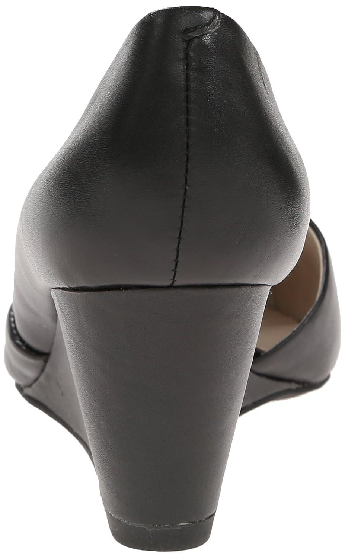 Kenneth Cole New York Women's Ellis Wedge Pump B00O4CETXY 6.5 B(M) US|Black