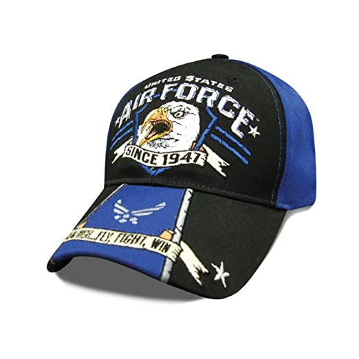 c3fd467d Capsmith Eagle Scream Adjustable Hat (Air Force) at Amazon Men's Clothing  store:
