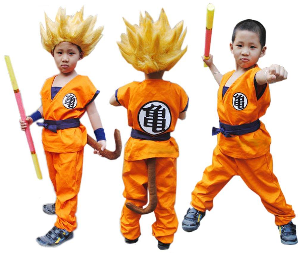 Goku Disfraz infantil Productos Letter Traje Anime Ropa ...