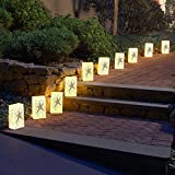 Lumabase Festive Lighting Decorative Electric Luminaria Kit Star 10 Count