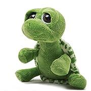 Luoke Plush Stuffed Cute Soft Sea Turtle Animals Cloth Multi Style Green Turtle Toy Children Doll Birthday Gift Bolster (25cm)