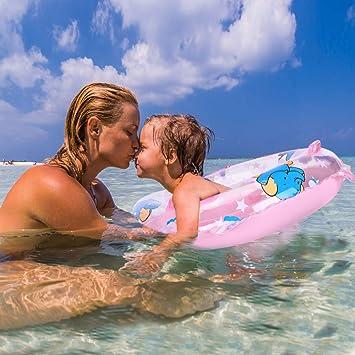 Amazon.com: Infant bebé niños nadar entrenador Float, niños ...
