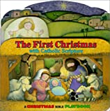 The First Christmas: With Catholic Scripture (Little Bible Playbooks)