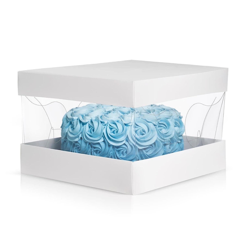 Cake Box set Clear Top- Dream Pack- 10