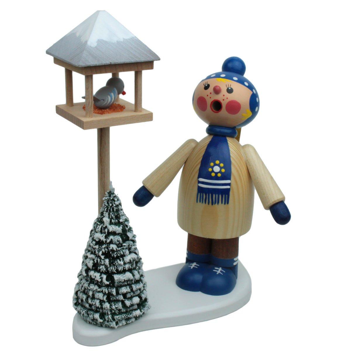 Dregano Winter Kid Bird Feeder Smoker Made in Germany