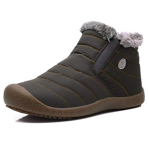 Mode Chaussures Hiver en IOSHAPO Hommes Chaud Femmes Coton hdtQrs