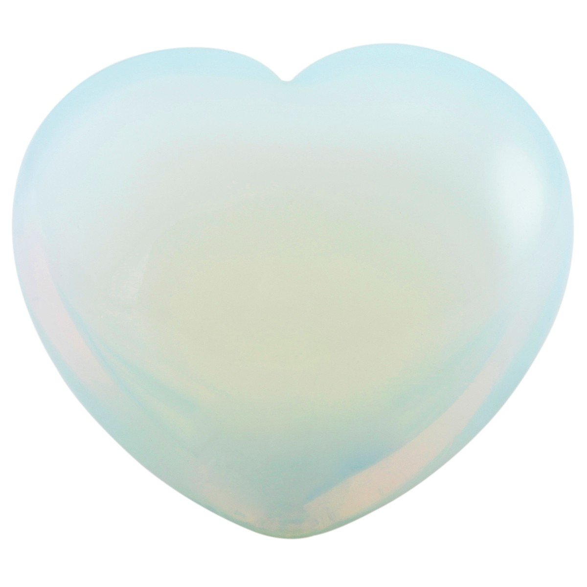 mookaitedecor Healing Crystals Heart Love Worry Palm Stone Reiki Balancing Fluorite 0.9 inches,Pack of 5