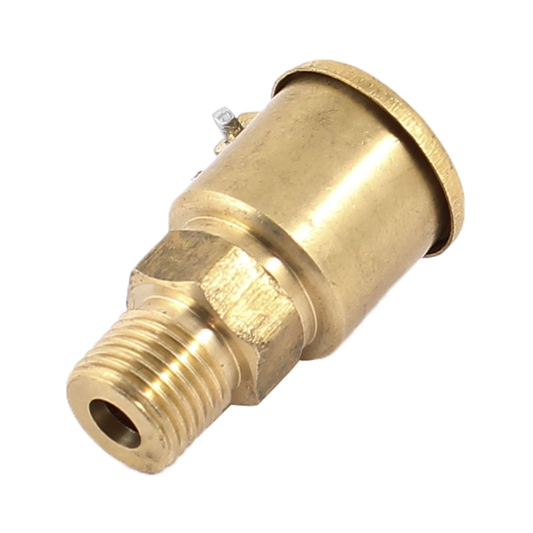 10mm Thread Dia Brass Oil Lubricating Spring Cap Copper Grease Cup