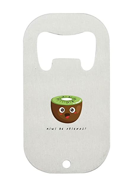 Kiwi Be Friends - Botella de acero inoxidable con diseño de ...