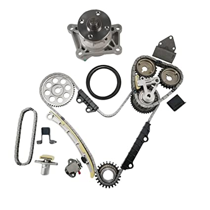 amazon com moca timing chain kit \u0026 water pump kit for 1999 2006amazon com moca timing chain kit \u0026 water pump kit for 1999 2006 suzuki grand vitara xl7 \u0026 2001 2004 chevrolet tracker 2 5l v6 dohc 24 valve h25a h27a