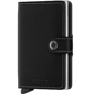 Secrid Men Mini Wallet Genuine Leather RFID Safe Card Case for max 12 cards