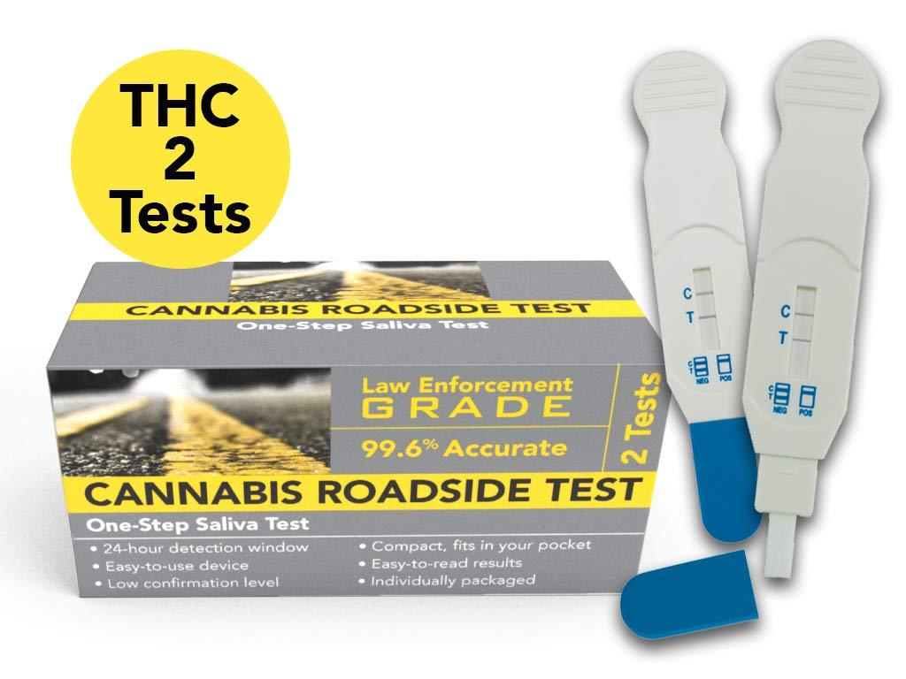 Cannabis Roadside THC Saliva Test (Marijuana) 2-Pack by VeriCheck (Image #4)