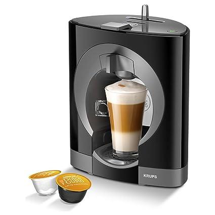 Nescafe Dolce Gusto Oblo máquina de café, color negro