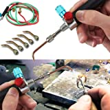 Kit de soldadura de soldadura de soldadura de joyeros para reparación de piezas de primeros auxilios, mini soplete de…