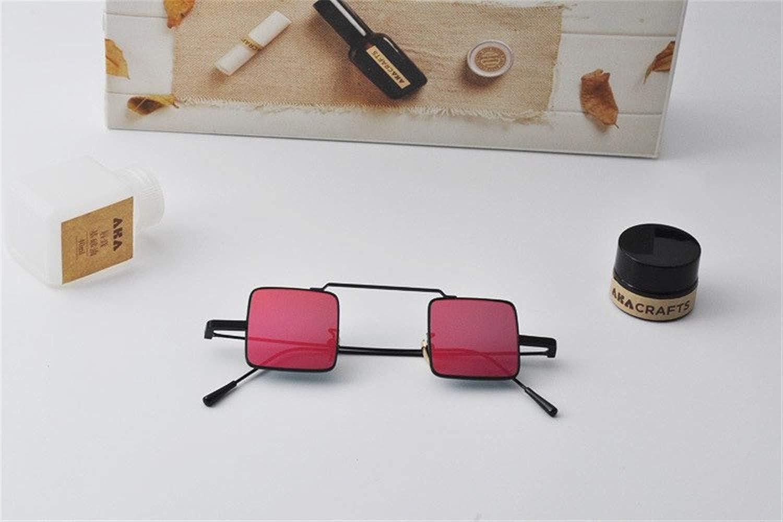 Wang-RX Steampunk Gafas de sol para niños Neto Rojo Retro ...