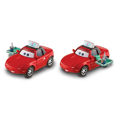 Disney/Pixar's Cars Diecasts Storytelling 2 Pack, 1: 55 Scale, Mia and Tia: Toys & Games