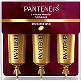 Pantene - Pro - v, ampolla 1 minutos brillo y fuerza para el cabello, 45 ml