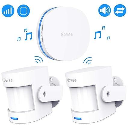 Amazon.com: Govee Motion Sensor Alarm, Motion Detector for ...