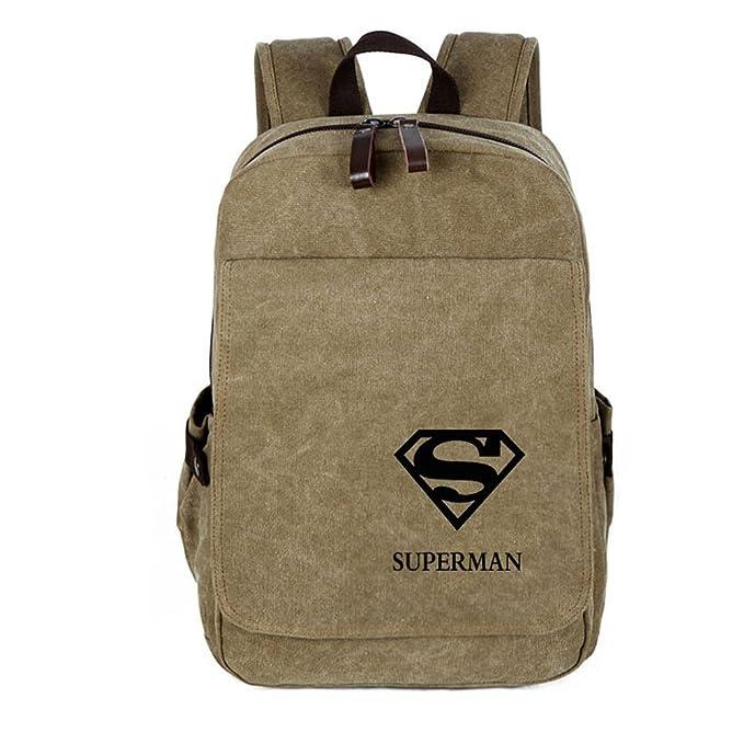 08402d9f17c Amazon.com   YOURNELO Leisure Marvel DC Travel Bag Rucksack School Backpack  Bookbag (Arrow Black 1)   Kids  Backpacks