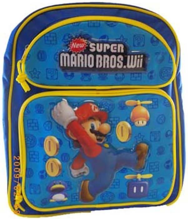 Super Mario Bros. mochila – Mario – Bolsa escolar: Amazon.es: Juguetes y juegos