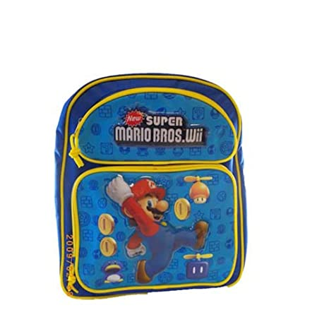 Super Mario Bros. mochila – Mario – Bolsa escolar