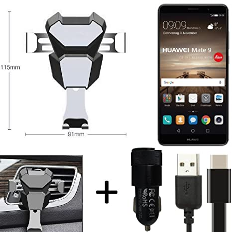 K-S-Trade® TOP SET para Huawei Mate 9 (Dual-SIM) soporte ...