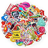 package stickers - 200-Pack SuprCool Stickers - Laptop Cellphone Pad Skateboard Luggage Car Motorcycle Bicycle - Random Sticker Set