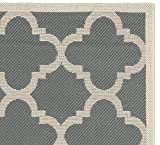 Safavieh Courtyard Collection CY6243-246 Grey and