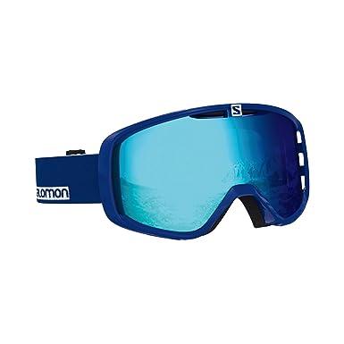 Salomon Aksium esquí Unisex, Compatibles con Gafas de Vista, Condiciones climáticas Variables, Lente Azul Multicapa (Intercambiable), Sistema Airflow, ...