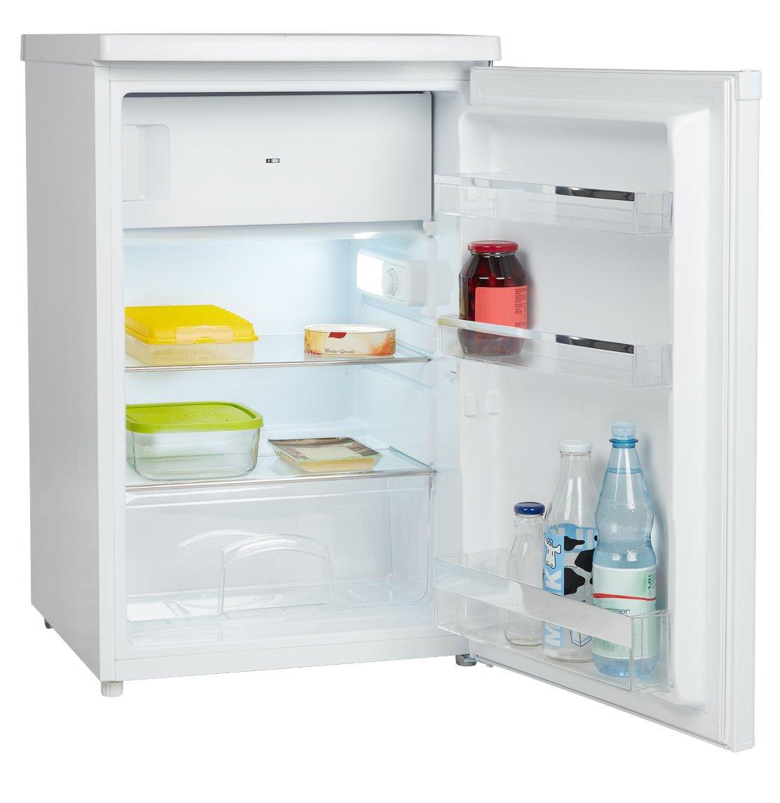 MEDION MD 37052 Kühlschrank mit Gefrierfach / A++ / 118 L Nutzinhalt ...
