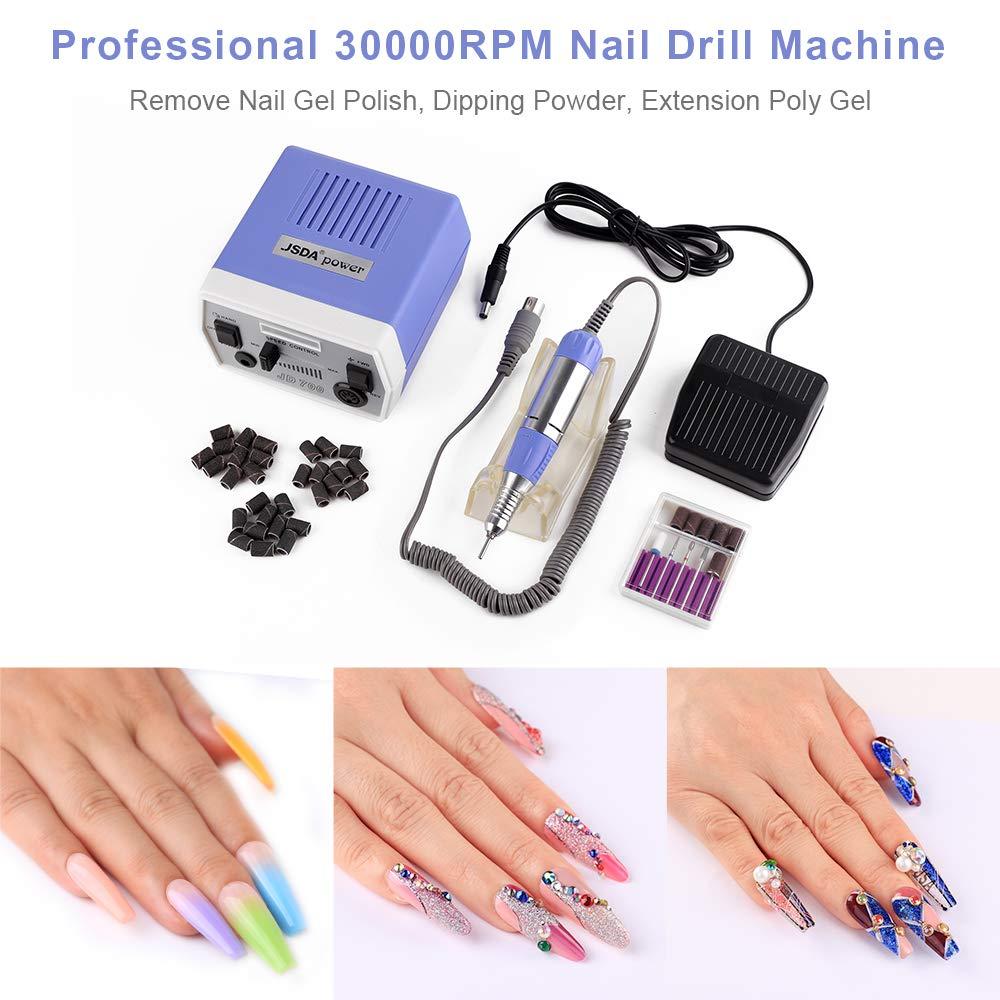 Amazon.com: Taladro de uñas eléctrico, Púrpura ...