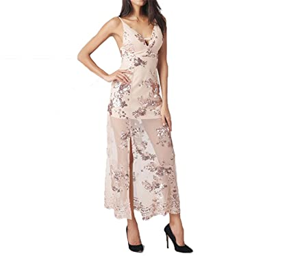 Brand Elegant Flower Embroidery Midi Dress Vintage V Neck Womens Formal dress Sexy Club Strape Dresses