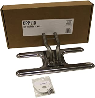 product image for Broilmaster DPP110-2 Stainless Steel H Burner Kit H4X H4 Grills