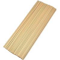 "Simoutal 100Pcs Fiber Reed Diffuser Replacement Refill Sticks (8"" x 3mm, Beige)"