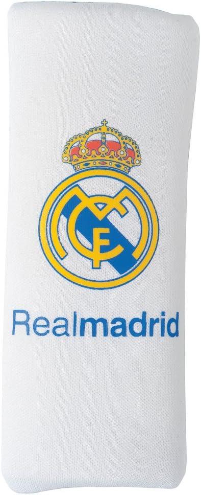 SUMEX Rma2313 - Almohadilla Protectora De Cinturón Real Madrid Niño, Blanca